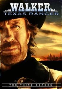 Walker, Texas Ranger (3ª Temporada) - Poster / Capa / Cartaz - Oficial 1