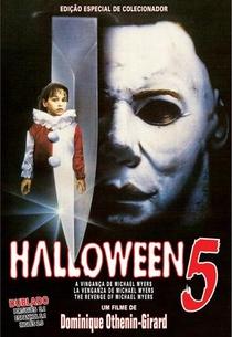 Halloween 5: A Vingança de Michael Myers - Poster / Capa / Cartaz - Oficial 4