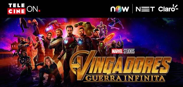 O MAIOR EVENTO DA MARVEL! Alugue AGORA e assista Vingadores: Guerra Infinita