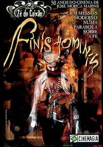 Finis Hominis - O Fim do Homem - Poster / Capa / Cartaz - Oficial 3