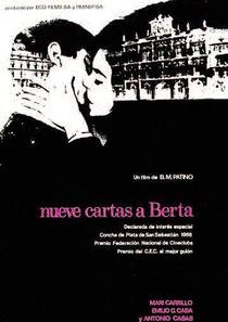 Nueve Cartas a Berta - Poster / Capa / Cartaz - Oficial 1