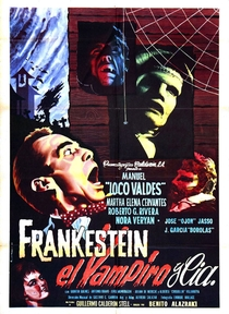 Frankenstein, the Vampire and Co. - Poster / Capa / Cartaz - Oficial 1