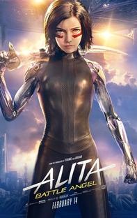 Alita: Anjo de Combate - Poster / Capa / Cartaz - Oficial 4