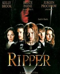 Ripper - Mensageiro do Inferno - Poster / Capa / Cartaz - Oficial 2