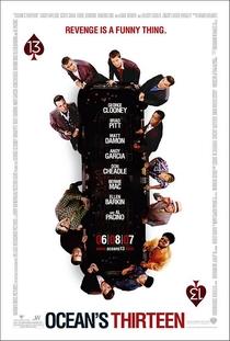 Treze Homens e um Novo Segredo - Poster / Capa / Cartaz - Oficial 3