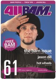 411VM Issue 61 - The Bam Issue! - Poster / Capa / Cartaz - Oficial 1