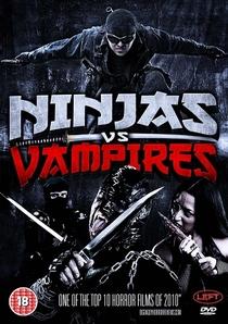 Ninjas vs. Vampiros - Poster / Capa / Cartaz - Oficial 1