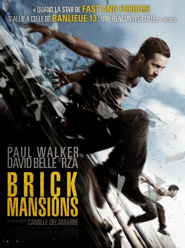 Mais ação em novo trailer de Brick Mansions, com Paul Walker, RZA e David Belle