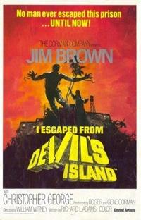 Fuga da Ilha do Diabo - Poster / Capa / Cartaz - Oficial 2