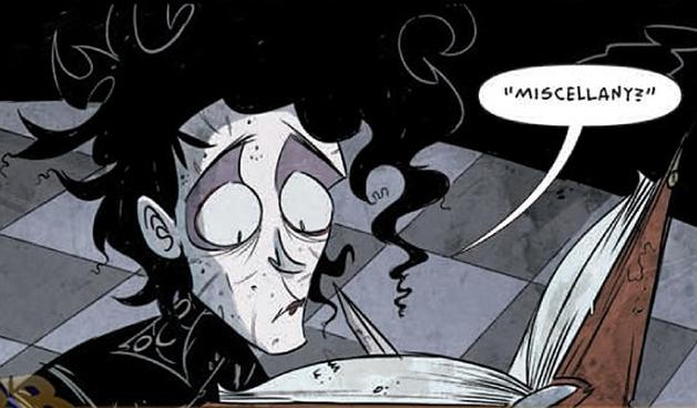 Edward Mãos de Tesoura: sai preview da 1ª edição da continuação do filme em quadrinhos