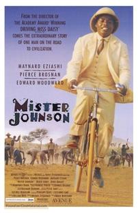 Mister Johnson - No Coração da África - Poster / Capa / Cartaz - Oficial 3