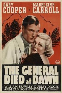 O general morreu ao amanhecer - Poster / Capa / Cartaz - Oficial 1