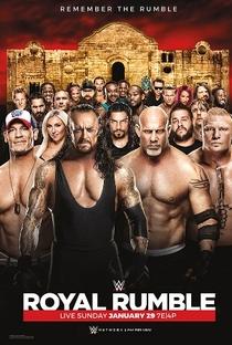 WWE Royal Rumble 2017 - Poster / Capa / Cartaz - Oficial 1