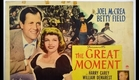 The Great Moment (1944) trailer