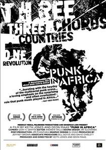 Punk na África - Poster / Capa / Cartaz - Oficial 1