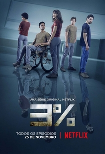 3% (1ª Temporada) - Poster / Capa / Cartaz - Oficial 2