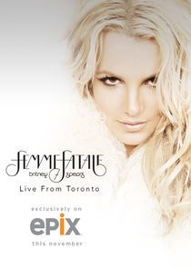 Britney Spears Live: The Femme Fatale Tour - Poster / Capa / Cartaz - Oficial 3