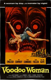 Voodoo Woman - Poster / Capa / Cartaz - Oficial 1