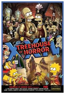 Os Simpsons - A Casa Da Árvore Do Horror XXIV - Poster / Capa / Cartaz - Oficial 1