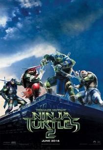 As Tartarugas Ninja: Fora das Sombras - Poster / Capa / Cartaz - Oficial 9