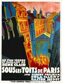 Sob os Tetos de Paris - Poster / Capa / Cartaz - Oficial 1
