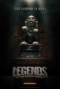 Lendas do Templo Perdido: O Filme - Poster / Capa / Cartaz - Oficial 2