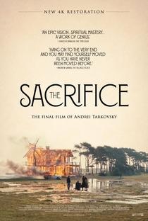 O Sacrifício - Poster / Capa / Cartaz - Oficial 1
