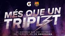 Barcelona - Mais que um Triplete - Poster / Capa / Cartaz - Oficial 1
