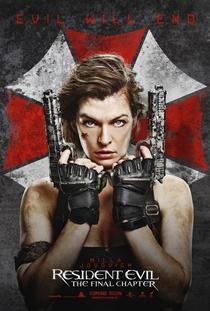 Resident Evil 6 - O Capítulo Final - Poster / Capa / Cartaz - Oficial 7