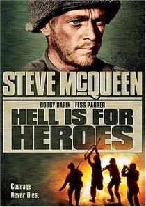 O Inferno É Para Os Heróis - Poster / Capa / Cartaz - Oficial 1