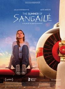 O Verão De Sangaile - Poster / Capa / Cartaz - Oficial 3