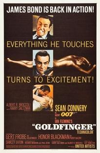 007 - Contra Goldfinger - Poster / Capa / Cartaz - Oficial 1
