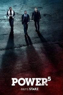 Power (5ª Temporada) - Poster / Capa / Cartaz - Oficial 1