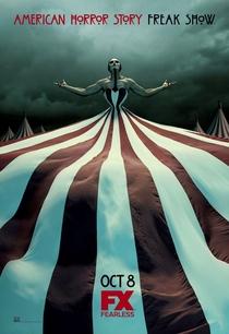 American Horror Story: Freak Show (4ª Temporada) - Poster / Capa / Cartaz - Oficial 4