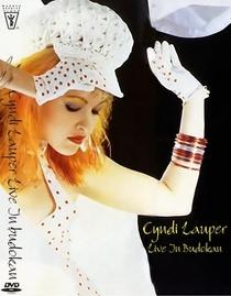 Cyndi Lauper - Live At Budokan - Poster / Capa / Cartaz - Oficial 1