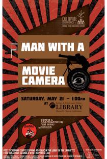 Um Homem Com uma Câmera - Poster / Capa / Cartaz - Oficial 10