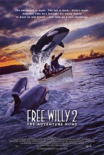 Free Willy 2 - A Aventura Continua - Poster / Capa / Cartaz - Oficial 2
