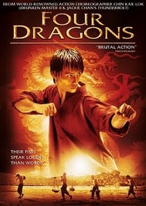 Os Quatro Dragões - Poster / Capa / Cartaz - Oficial 2
