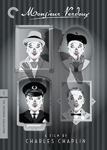 Chaplin Hoje - Monsieur Verdoux - Poster / Capa / Cartaz - Oficial 1