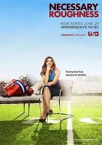 Necessary Roughness (1º Temporada) - Poster / Capa / Cartaz - Oficial 1