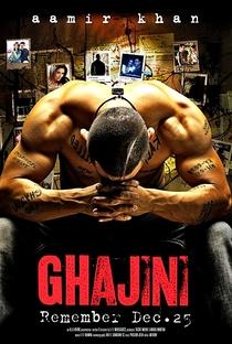 Ghajini - Poster / Capa / Cartaz - Oficial 2