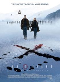 Arquivo X - Eu Quero Acreditar - Poster / Capa / Cartaz - Oficial 1