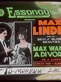 Max Wants a Divorce - Poster / Capa / Cartaz - Oficial 1