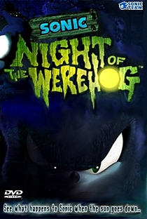 Sonic: Night of the WereHog - Poster / Capa / Cartaz - Oficial 3