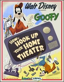 Instale Seu Home Theater Com O Pateta - Poster / Capa / Cartaz - Oficial 1