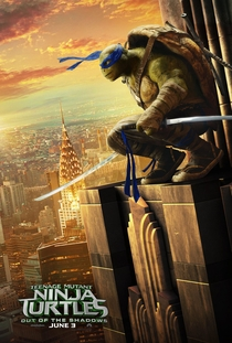 As Tartarugas Ninja: Fora das Sombras - Poster / Capa / Cartaz - Oficial 10
