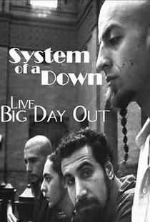 SOAD - Big Day Out (2002) - Poster / Capa / Cartaz - Oficial 1