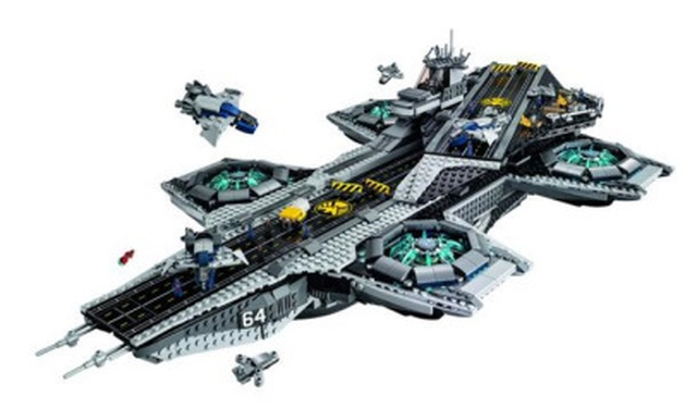 Vingadores: Aeroporta-aviões da S.H.I.E.L.D. terá versão em LEGO