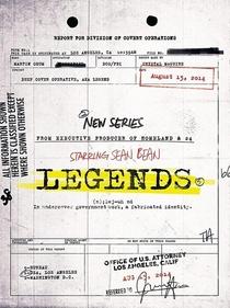Legends – Identidade Perdida (1ª Temporada) - Poster / Capa / Cartaz - Oficial 2