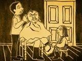 Disputa entre o Diabo e o Padre pela Posse Do Cênte-Fór na Festa do Santo Mendigo - Poster / Capa / Cartaz - Oficial 1